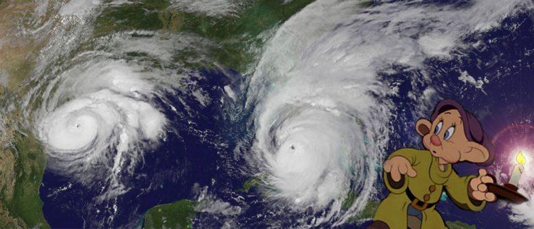 Harvey, Irma and Dopey