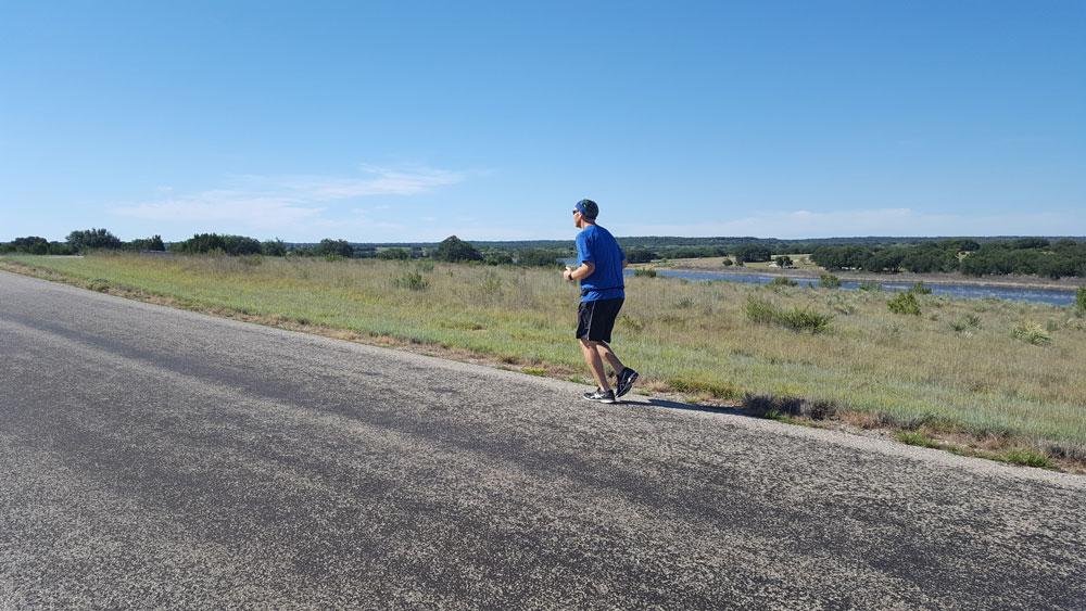 Lloyd running brownwood