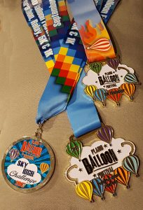 Plano Balloon Fest Medals