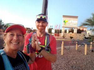 Lloyd and Sandy at Las Vegas RV Resort