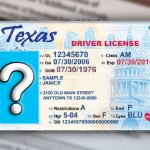 Texas Drivers License Background