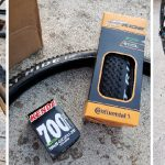 Trek DS 8.3 with Continental AT Ride tires and Kenda Tubes